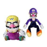 "9-11"" Super Mario Bros Wario and Waluigi Plush Doll Stuffed Toy Xmas Gift U Ship"