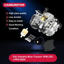 Aluminum Carb Carburetor For Yamaha Bear Tracker YFM 250 ATV 1999-2004 2003 2000