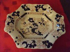 rare vintage Mason's Mandarin dish only blue decoration