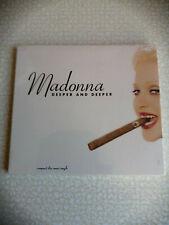 MADONNA - DEEPER AND DEEPER - CD USA  7 TRACKS DIGIPACK- SEALED
