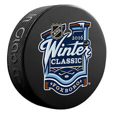 2016 NHL Winter Classic Souvenir Style Puck- Boston Bruins vs Montreal Canadiens