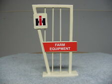 IH INTERNATIONAL HARVESTER TRACTOR FARM EQUIPMENT DEALER DISPLAY STAND SIGN