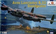 Amodel 1/144 Avro Lancaster B.III Dambuster # 1433