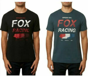 Fox Racing Mens Unlimited Airline T-Shirt MX Motocross Casual Tee Tops All Size