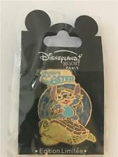 DLRP DLP DISNEY STUDIOS INVASION SERIES STITCH CRUSH'S COASTER LE 900 PIN 57448