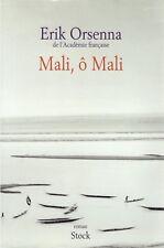 ERIK ORSENNA MALI O MALI + PARIS POSTER GUIDE