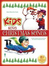 Kids Sing Christmas Songs Music Minus One Book and CD NEW 000141196