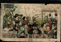 Postkarte bunt Ansichtskarte gelaufen PK Oktoberfest München Joseph Moch antik