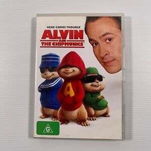 Alvin And The Chipmunks (DVD, 2008) Jason Lee Region 4