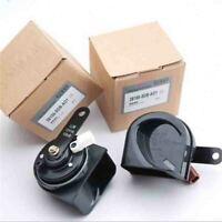 Pair 38100SDBA01 38150SDBA01 Low/High Snail Horn For Honda Accord Acura RL TSX
