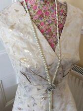 Monsoon Sabrina Gold Beige Evening Dress Size 20 Bnwt Holiday