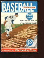 1963 The Sporting News Official Baseball Guide VGEX