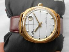 RARE VINTAGE GP SWISS MADE WHITE DIAL FORTIS TRUELINE MENS AUTOMATIC WATCH