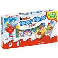 KINDER HAPPY HIPPO (CACAO) CONFEZIONE DA 5 PEZZI FERRERO 2020 LIMITED EDITION