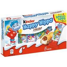 KINDER HAPPY HIPPO (CACAO) CONFEZIONE DA 5 PEZZI FERRERO 2021 LIMITED EDITION