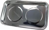 """Tool Hub 9091 Magnetic Stainless Steel Parts Tray Dish 5.5""""/140mm x 9.4""""/240mm"""