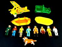 Vintage 1970's Fisher-Price Adventure People Lot - Wilderness Patrol and More