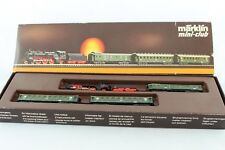 8100 Märklin DRG Reichsbahn-Schnellzug-Set mit Lokomotive 8891 Spur Z +Top+