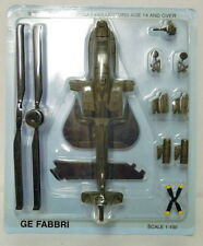AH-64 D Apache, Italeri, 1:100, Metall, Die Cast, NEU, Fertigmodell,