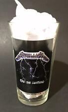 Metallica Pint Glass Ride The Lightning 2006 Glass Hard Rock Heavy Metal