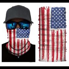 USA Flag Face Balaclava Scarf Neck Fishing Shield Sun Gaiter Headwear Mask