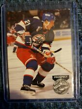 1991-92 Pro Set Platinum PROSPECT Russ Romaniuk Winnipeg Jets Card #274