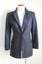 Wool Blend Business Solid Coats & Jackets for Women