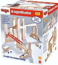 Marble Run Kit Haba 1136 Wooden Marble Track 42 Pieces
