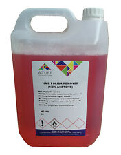 Azure Nail Polish Remover NON ACETONE Gentle On Skin, Real & Acrylic Nails - 5L