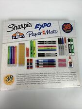 Sharpie Expo Elmer's Paper Mate 38 Count School Office Supply Set Kit NEW Sealed