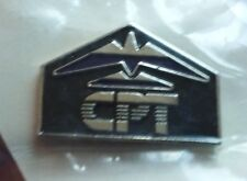 CPT Corporation Word Processor logo pin badge