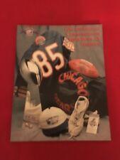 1995 NFL Chicago Bears 10-Year Super Bowl XX Anniversary Yearbook / Payton