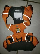 Ruffwear Front Range Dog Harness XXS Small Orange Poppy New No Tags 13-17 in