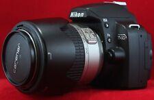 Nikon D40 appareil photo reflex numérique avec Nikkor AF-S 55-200 mm 1:4-5.6G ED Lens