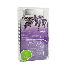 VOESH Pedicure Spa Set 4-in-1 Lavender Relieve Salt Scrub Masque Massage Lotion