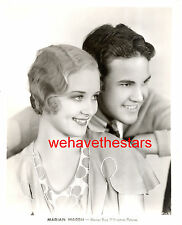 Vintage Marian Marsh & Her Brother EARLY 30s Publicity Portrait