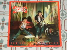 THE SCABS - For All The Wolf Calls RARE LP HOLLAND 1984