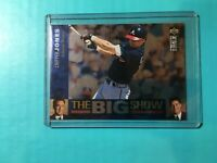 CHIPPER JONES 1997 COLLECTOR'S CHOICE BIG SHOW INSERT CARD # 2 BRAVES