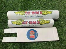 Old School BMX G T PRO Pad Re Made Sets frame handlebar stem white