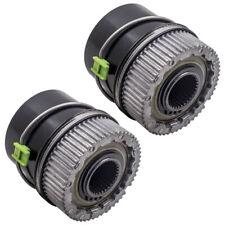 2 Set Locking Hubs Wheel Hub for Ford F-450 F-550  Super Duty 99-2003 4x4 600204
