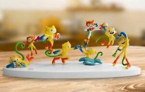 AUTHENTIC Brazil Rio 2016 Olympic Mascot Vinicius PVC Table Tops,30X10X10cm