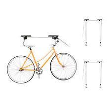 3 x Fahrradlift im Set, Fahrradaufhängung Decke, 3 Fahrräder, universal, Seilzug