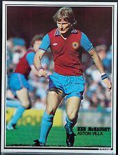 Joueur de Football Photo Ken McNaught Aston Villa Shoot