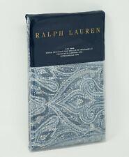 Ralph Lauren Allister Paisley 100% Cotton Pillow Sham - King - Blue