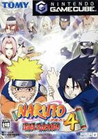 USED Nintendo GAMECUBE NARUTO Gekitou Ninja Taisen 4 JAPAN OFFICIAL IMPORT