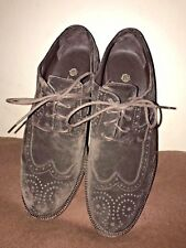LORO PIANA SUEDE BROWN  FLATS AND OXFORDS WOMAN SIZE 61/2 SHOES