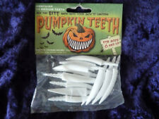 Pumpkin Teeth 12 Medium Plastic Fang Teeth Halloween The Original Pumpkin Teeth