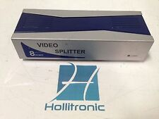 8-Port Video Splitter VGA SVGA XGA Multi Sync