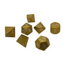 Gold Coin Pebble ™ Dice - 10mm 6061 Aircraft Grade Aluminum Mini