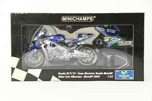 MINICHAMPS 1/12 Honda RC211V Team Movistar Honda MotoGP 2005 Diecast NIB